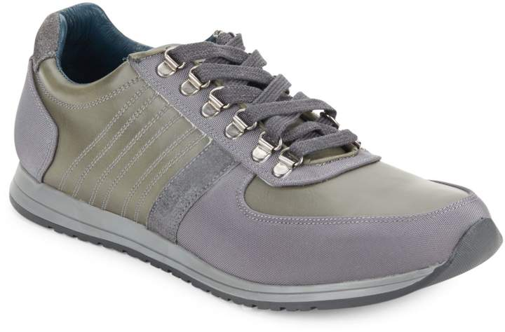 7f85919a548 Textured Lace-Up Sneakers