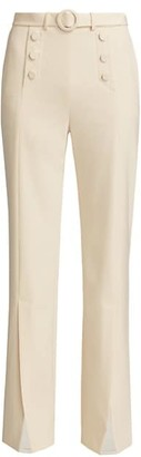 Jonathan Simkhai Slit-Front Sailor Pants