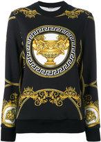 Versace La Coupe des Dieux sweatshirt - women - Cotton - 40