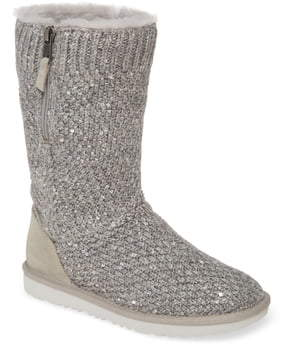 UGG Sequin Knit Boot