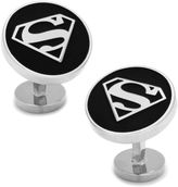 Asstd National Brand DC Comics Round Superman Shield Cuff Links
