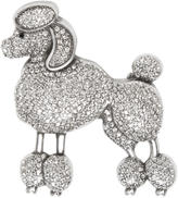 Marc Jacobs Silver Large Poodle Brooch