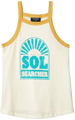 Tiny Whales Sol Searcher Tank (Toddler/Little Kids/Big Kids) (Natural) Girl's Clothing
