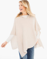 Chico's Cotton Cashmere Double-Face Poncho
