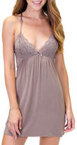PJ Salvage Modal Basics Lined Lace Cups Chemise