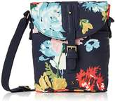 Joules Womens Tourer Canvas Cross-Body Bag