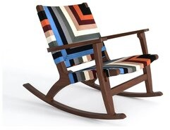 Thumbnail for your product : Masaya & Co Rocking Chair Color: Walnut