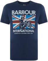 Barbour Bike Jump Jack Print Short Sleeve T-shirt