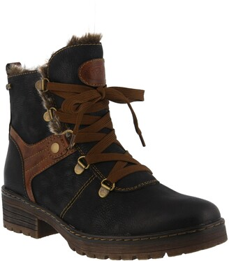 Spring Step Micha Faux Fur Lined Hiking Boot