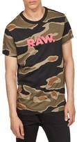 G Star Men's Tiger Camo Graphic T-Shirt