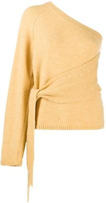 Nanushka Cleto sleeveless asymmetric top