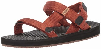 Freewaters Men's Supreem Sport Cage Sandal w/Universal Fit 4-Pt Strap-in Closure w/Arch Support