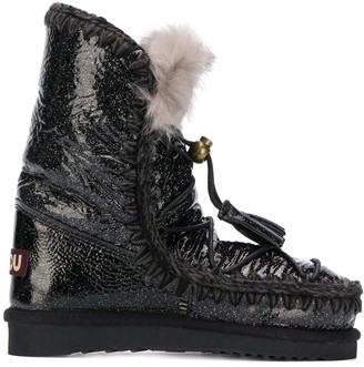 Mou Eskimo dream lace-up boots