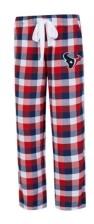 Concepts Sport Houston Texans Women's Breakout Plaid Pajama Pants