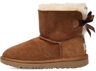 UGG Mini Bailey Bow Shearling Boots