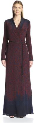 Kempner Women's Gemma Robe Maxi Dress