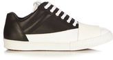 Marni Bi-colour low-top leather trainers