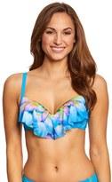 CoCo Reef Silent Bloom Aura Mesh Ruffle Bikini Top (C/D/DD Cup) 8151415