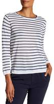 Brochu Walker Roe Striped Long Sleeve Tee
