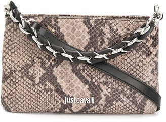 Just Cavalli Snakeskin Effect Mini Bag
