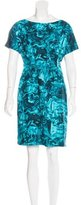 Michael Kors Silk Abstract Print Dress