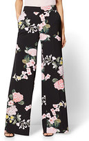 New York & Co. Palazzo Pant - Floral - Petite