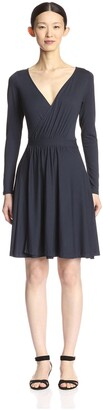 By Ti Mo Women's Knit Wrap Dress
