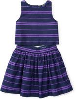 Ralph Lauren Striped Tank Top & Skirt Set, Toddler & Little Girls (2T-6X)