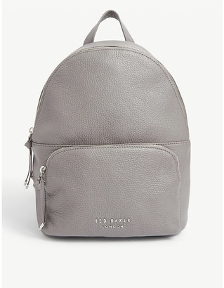 Ted Baker Roziie pebbled leather backpack