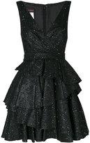 Talbot Runhof Noon dress - women - Lurex/Polyester/Acetate/Polyacrylic - 36