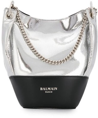 Balmain Polygon bucket bag