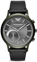 Giorgio Armani Connected Olive-Tone Hybrid Smartwatch, 43mm