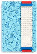 Lego Blue Journal With White Band