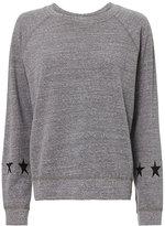 Monrow Heathered Star Sweatshirt