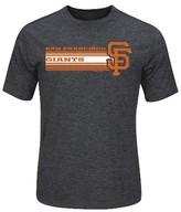 San Francisco Giants Men's Charcoal Heather Synthetic T-Shirt