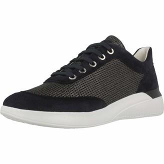 Geox Girl's D Theragon C Low-Top Sneakers