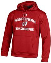 Under Armour Men's Wisconsin Badgers Tech Hoodie