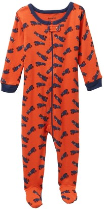 Leveret Truck Footed Pajama Sleeper (Baby Boys & Toddler)