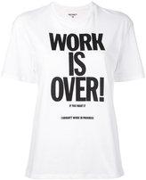 Carhartt slogan T-shirt - women - Cotton - M
