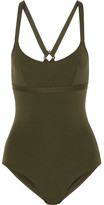 Eres Kube Voltige Swimsuit - Army green