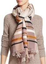 Echo Varsity Stripe Blanket Scarf