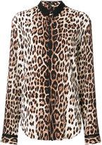 Unconditional leopard print shirt - men - Silk/Spandex/Elastane - L