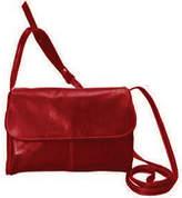 David King Women's 3521 Florentine Flap Front Handbag