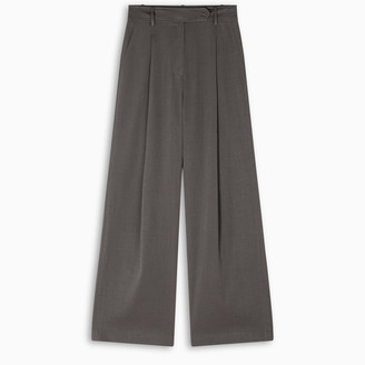 LE 17 SEPTEMBRE Wide trousers with pleats