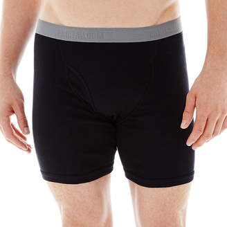 Fruit of the Loom Premium Cotton Boxer Briefs 3+1 Bonus Pack - Big