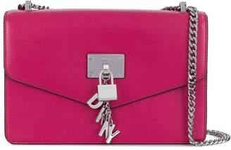 DKNY Elissa padlock cross body bag