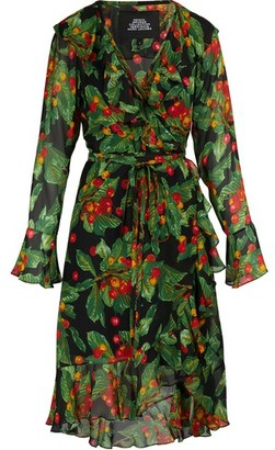 Marc Jacobs Long-sleeved wrap dress