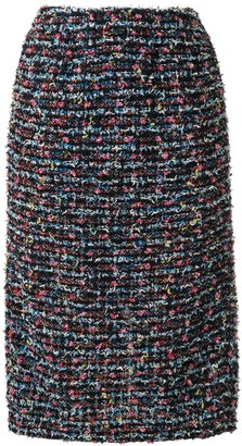 Coohem Straight Fit Tweed Skirt