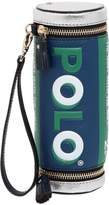 Anya Hindmarch Polo Mints Embossed Leather Clutch