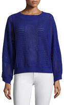 Endless Rose Crewneck Crochet Sweater